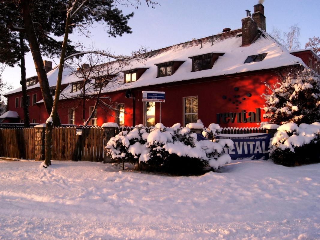 Sulinowy Dom Revital zimą