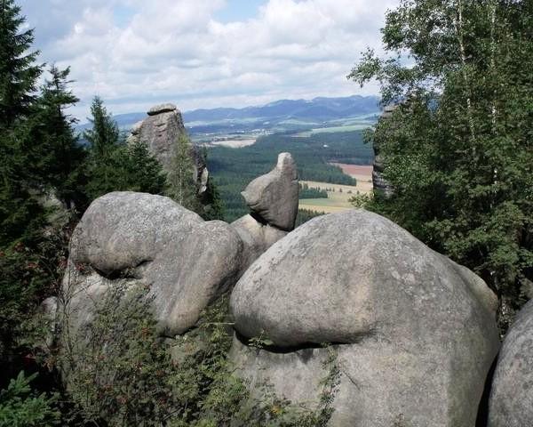 Krajobraz Gór Stołowych