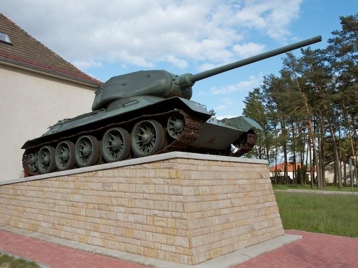 Pamiątka po radzieckich wojskach
