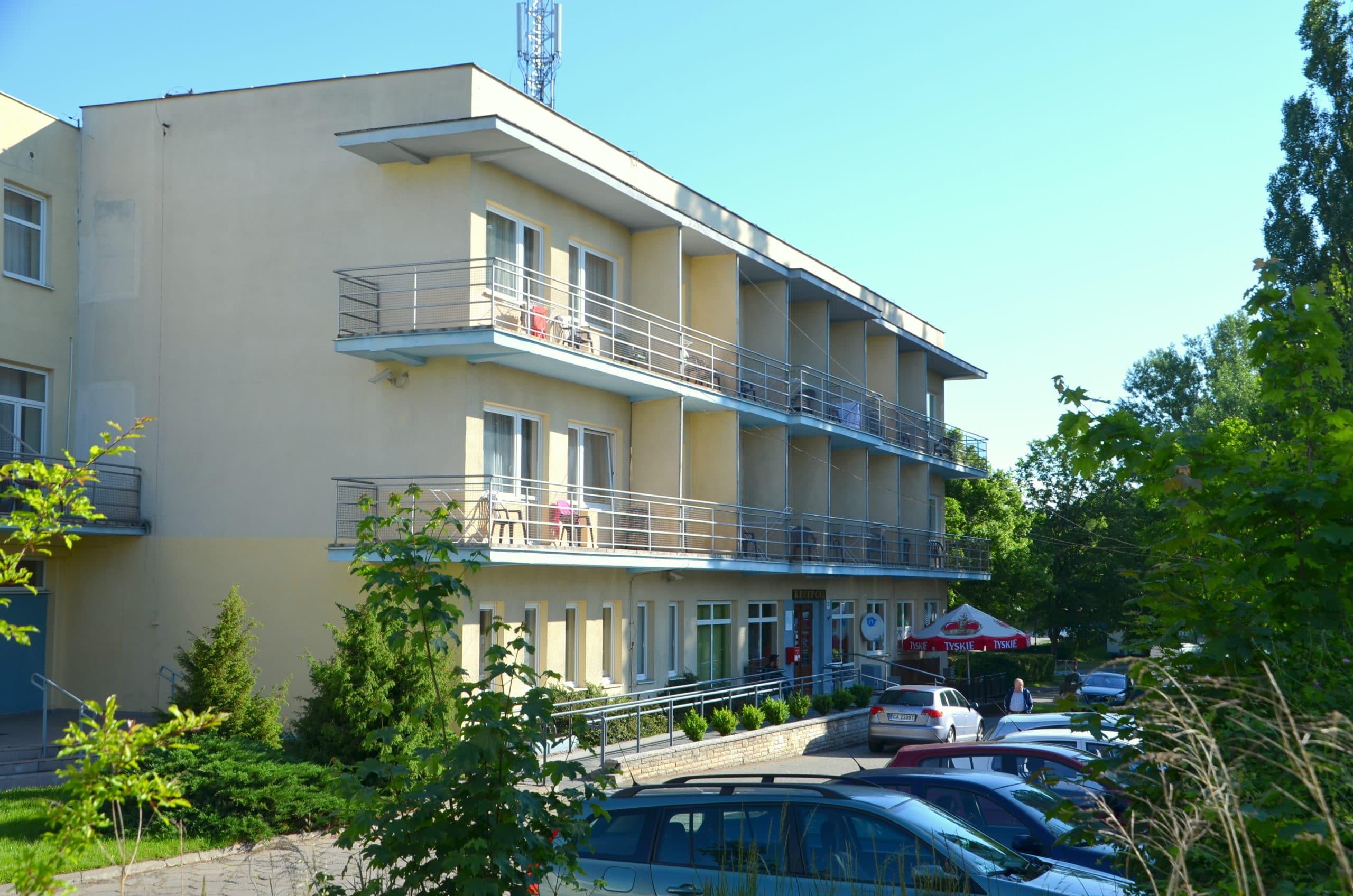 Kamienny Potok - budynek