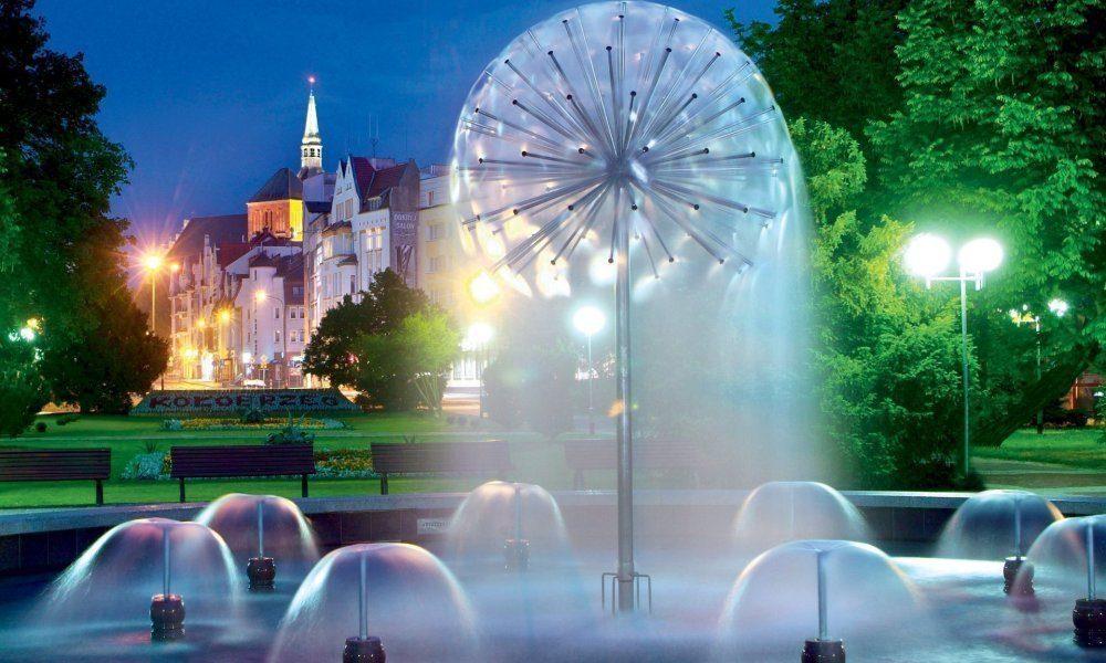 Kołobrzeg - fontanna