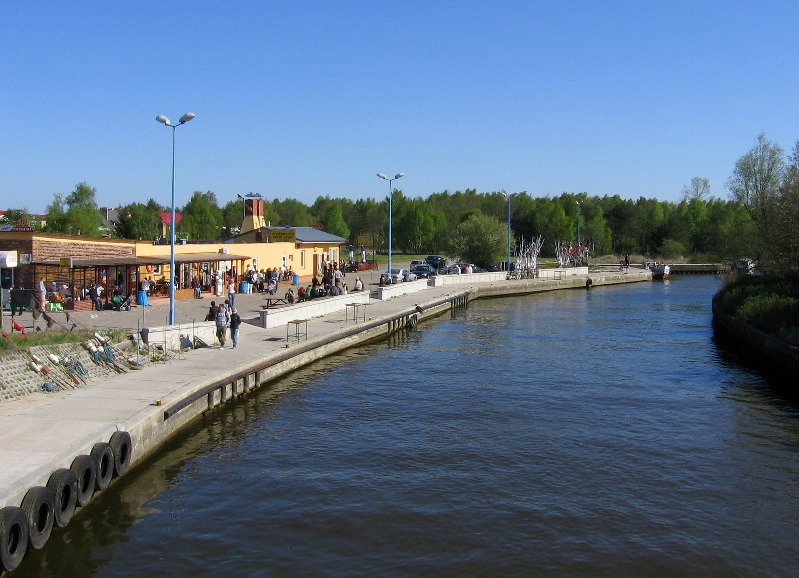 Dźwirzyno - port