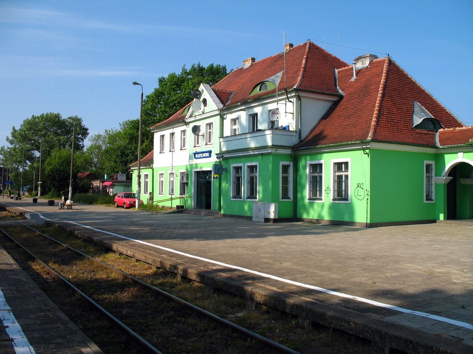 Władysławowo - stacja kolejowa