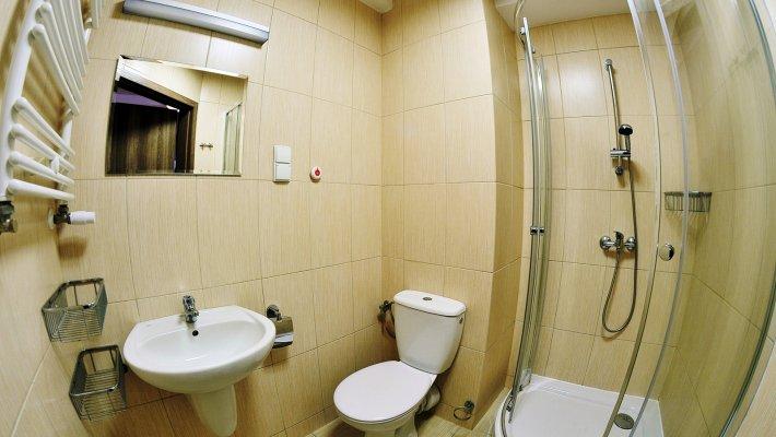 Muszelka  - 2 os. KOMFORT - łazienka