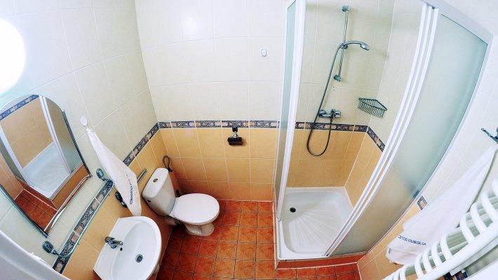 Muszelka  - 2 os. - łazienka