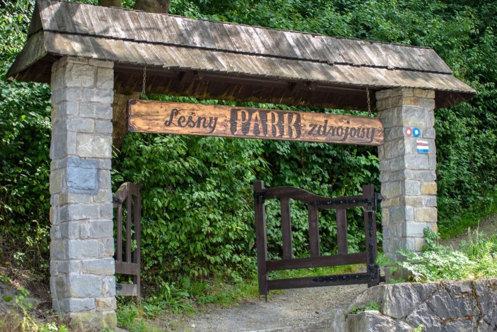 Piwniczna - leśny park zdrojowy
