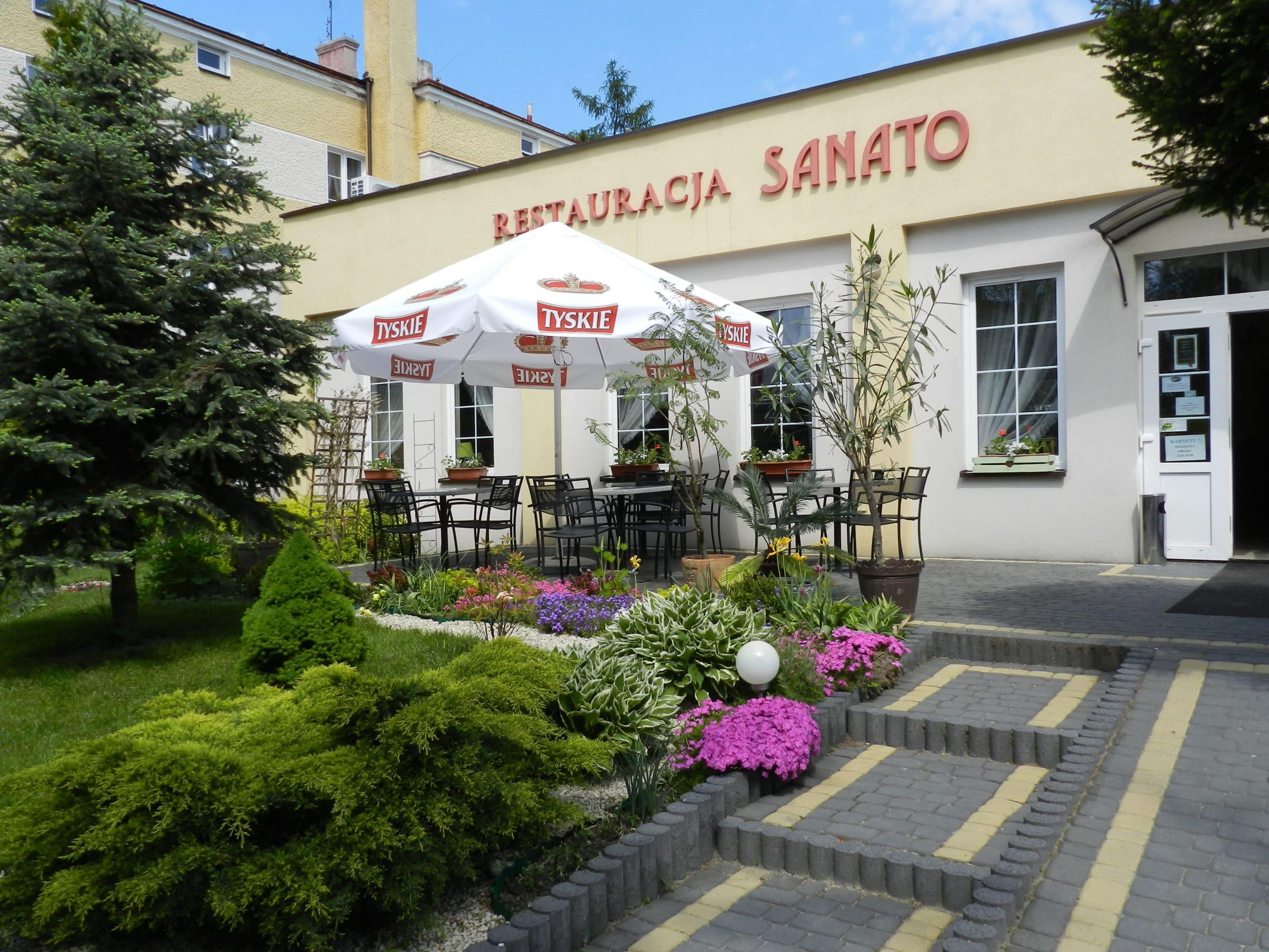 """Pensjonat """"Sanato"""" - restauracja"""