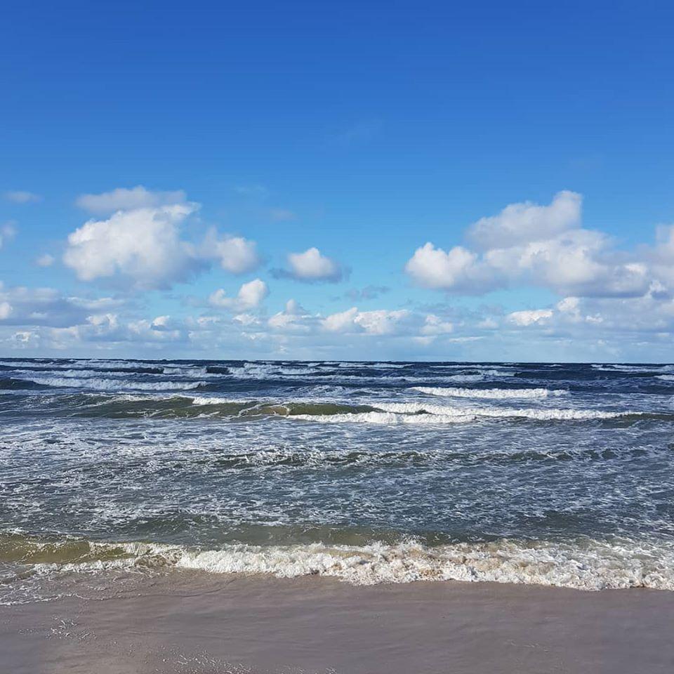Łeba - morze