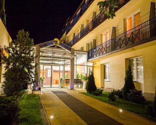 Budynek HOTEL*** NAT Kołobrzeg
