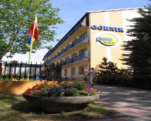 Budynek HOTEL*** NAT Kołobrzeg - wczasy dla seniorów