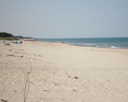 Dąbki plaża