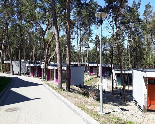 domki szeregowe