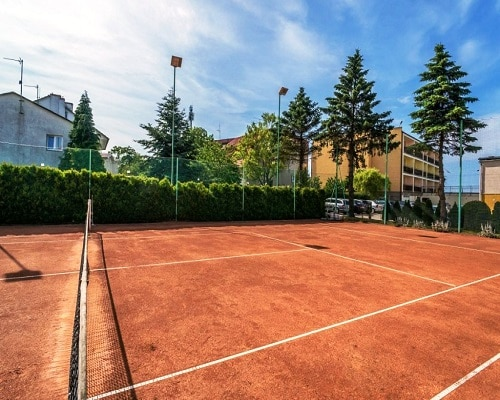 OW Gwarek - kort tenisowy
