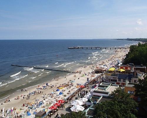 Kołobrzeg - plaża