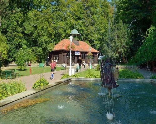 Krynica Zdrój - fontanna