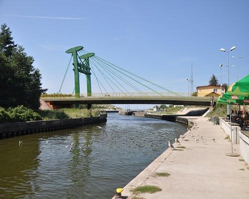 Most w Dźwirzynie