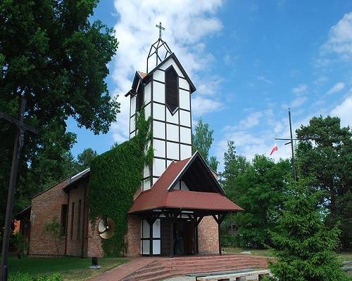 Kościół - Kąty Rybackie