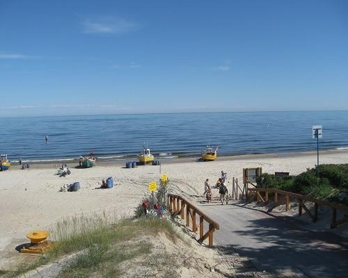 Plaża - Kąty Rybackie