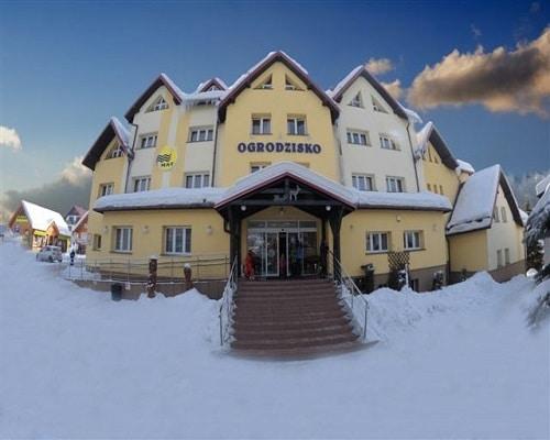 Budynek w zimie