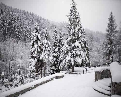 Hotel*** NAT - widok zimą