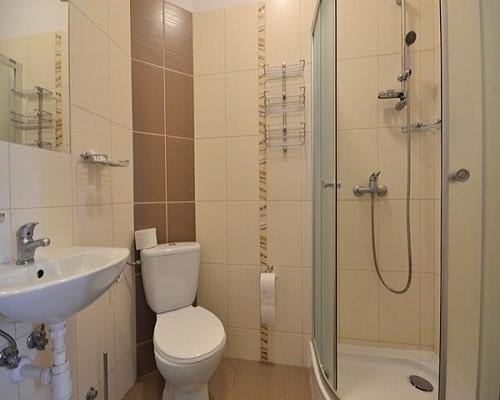 Łazienka w Hotel*** NAT