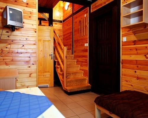 Domek drewniany - OW Półwysep
