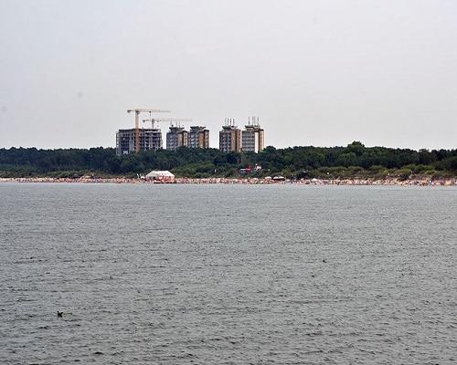 Dziwnówek - widok od strony morza