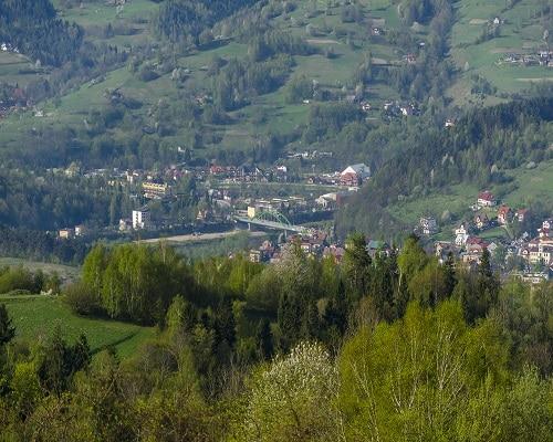 Panorama Piwnicznej