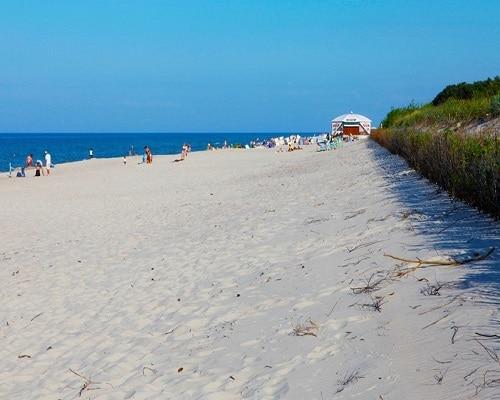 Plaża w Jastarni