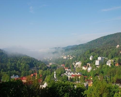 Panorama Krynica Zdrój