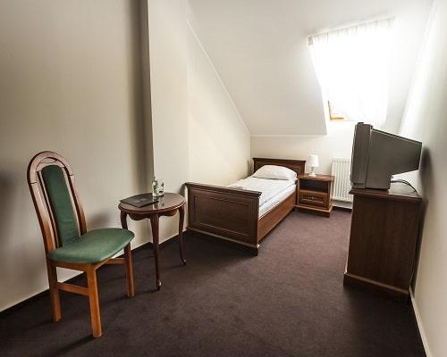 Pałac - pokój attic 1 os.