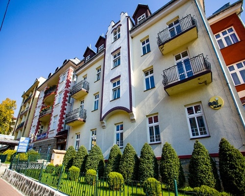 Jagiellonka - budynek