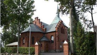 Mielno - zabytkowy kościół
