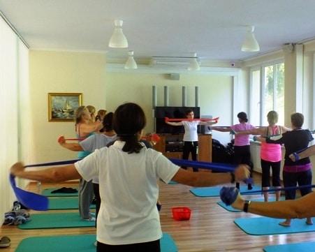 Ćwiczenia na sali