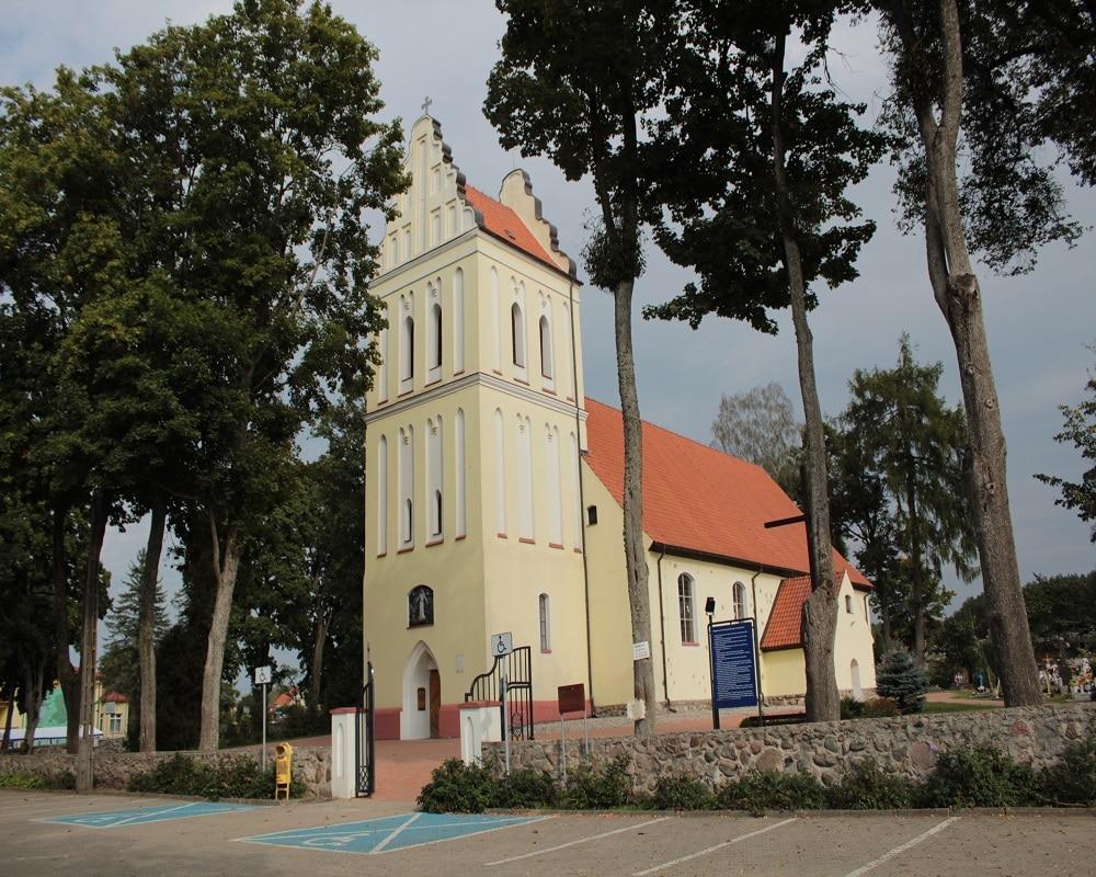 Kruklanki - Kościół NMP