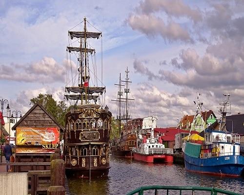Port w Łebie