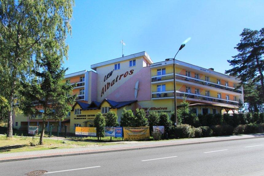 "Sanatorium ""Albatros"" w Krynicy Morskiej"