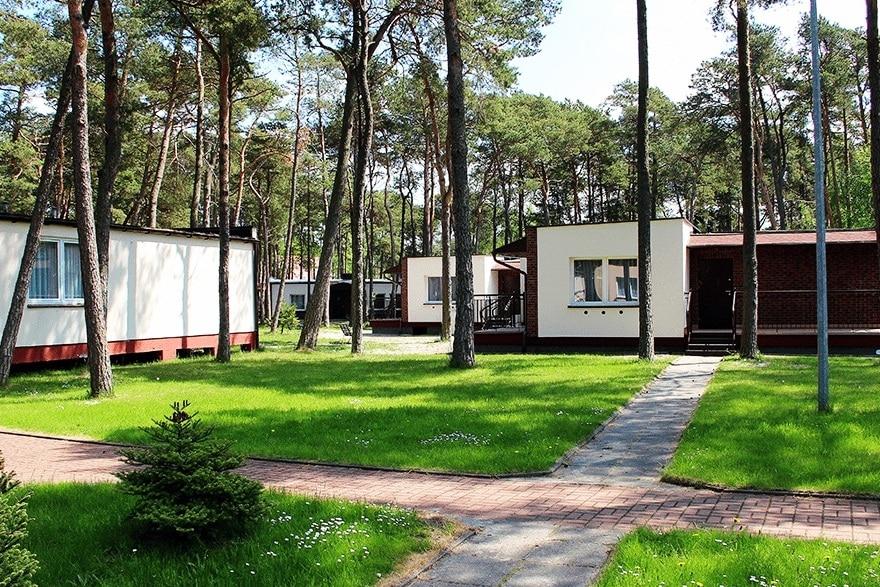 """Domki w OPZ """"Górnik"""""""