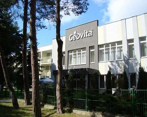 """Ośrodek """"Geovita"""" w Dźwirzynie"""