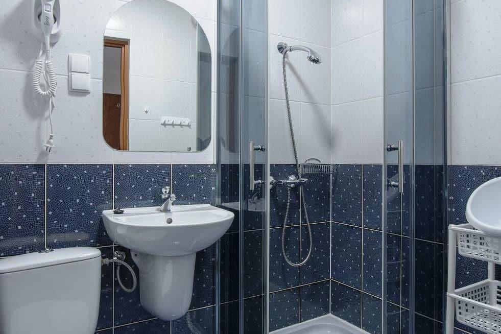 Łazienka w OWR Bursztyn