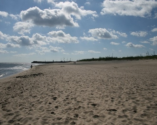 Plaża we Własysławowie