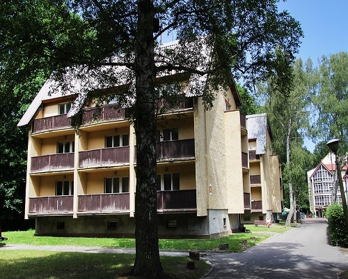 Pawilony w Sanatorium Podczele