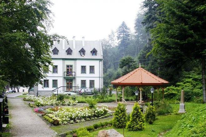 Ogród w Sanatorium