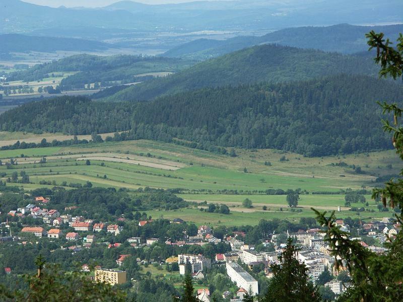 Lądek Zdrój - panorama