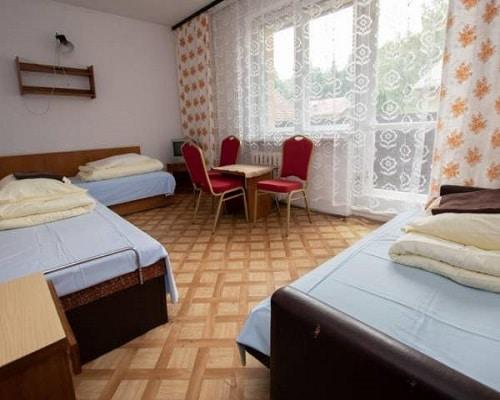 Pokój 3 os w pawilonach kategoria turystyczna