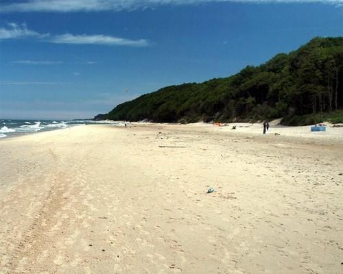 Plaża w Poddąbiu